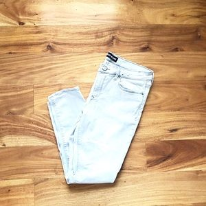 Express Grey Legging Jeans